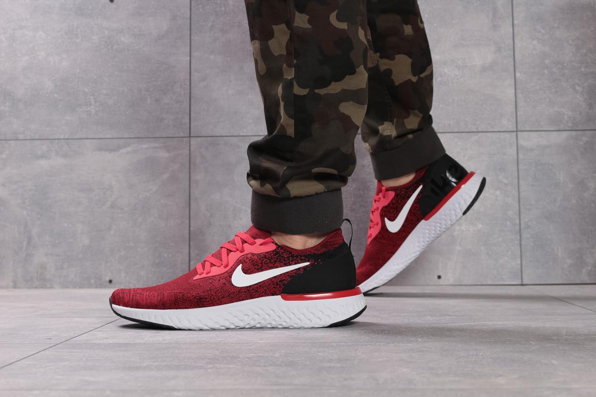 Кроссовки мужские 16104, Nike Epic React, красные, [ 43 44 ] р. 43-28,0см.