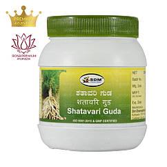 Шатавари Гуда (Shatavari Guda, SDM), 250 грам - Аюрведа преміум - джем для жіночого здоров'я