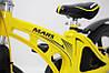 ✅ Детский Двухколесный Магнезиевый Велосипед MARS 16 Дюйм Желтый, фото 2