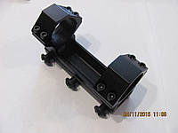 Моноблок для крепления оптики 30 мм на вивер