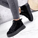 Ботинки женские Nies черные 2817, фото 2