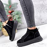 Ботинки женские Nies черные 2817, фото 5