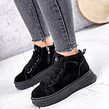 Ботинки женские Nies черные 2817, фото 4