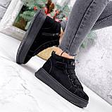 Ботинки женские Nies черные 2817, фото 7