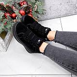 Ботинки женские Nies черные 2817, фото 8