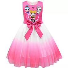 Платье LOL.  Детское карнавальное платье ЛОЛ.