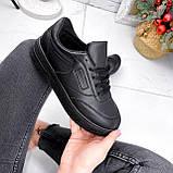 Кроссовки женские Foris черные 2814, фото 6