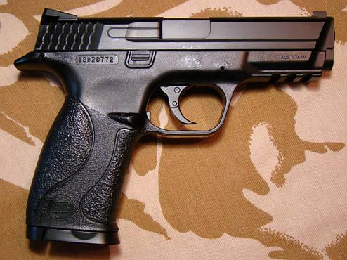 Пневматичний пістолет KWC KM-48D, фото 2