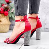Босоножки женские Nixa красные 2819, фото 6