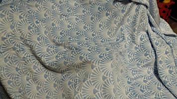 Плед покривало Yves Rocher блакитний фліс флісовий супер м'який