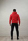 Мужской спортивный костюм красно-черный, фото 2