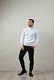 Мужской спортивный костюм бело-черный, фото 3