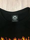 Черная футболка - Огненный трешер, фото 5