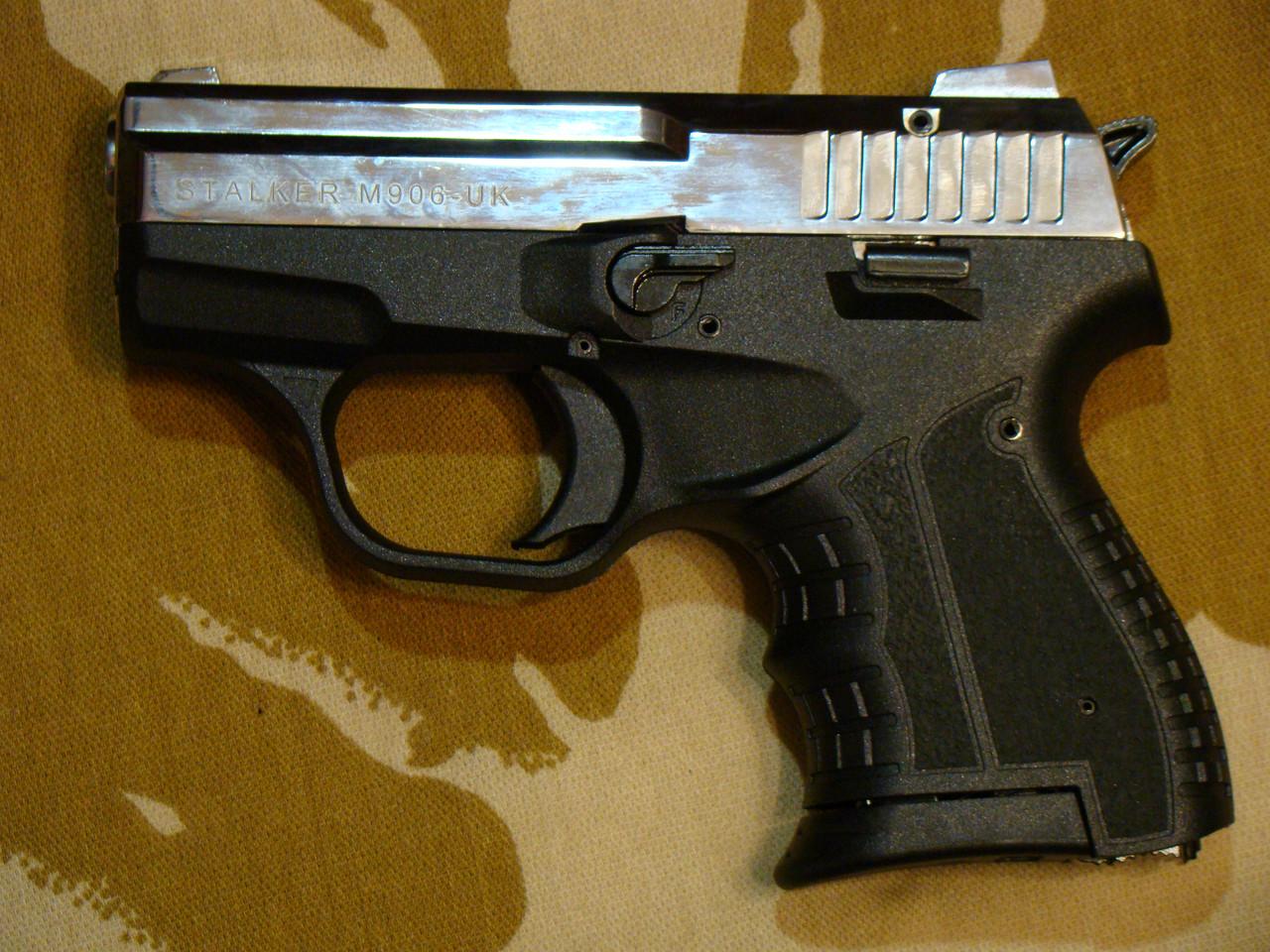 Стартовий пістолет Атак Arms Stalker 906 Shiny Chrome