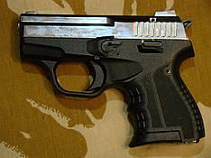 Стартовый пистолет Atak Arms Stalker 906 Shiny Chrome