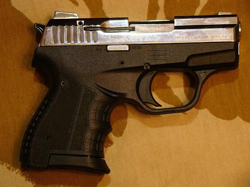 Стартовий пістолет Атак Arms Stalker 906 Shiny Chrome, фото 2