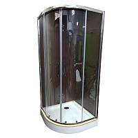Душевая кабина Veronis KN-3-100 PREMIUM 100х100х204 прозрачное стекло, фото 1