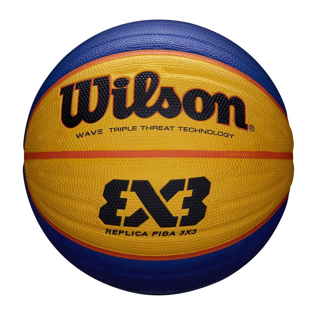 Мяч баскетбольный Wilson Fiba 3x3 r ball размер 6 резиновый для стритбола 3х3 (WTB1033XB)