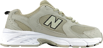 Женские кроссовки New Balance 530 Beige (Нью Беланс) бежевые