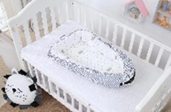 Гнездышко-кокон для ребенка с сеткой