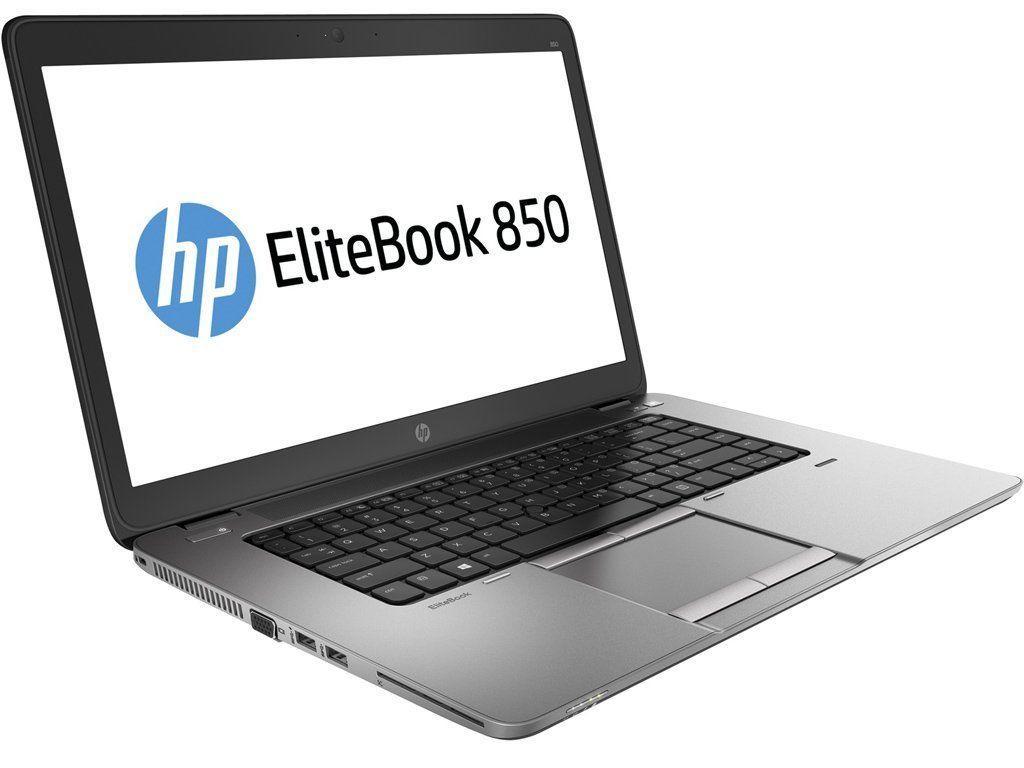 """HP Elitebook 850 G2 / 15.6"""" (1366x768) TN / Intel Core i5-5200U (2 (4) ядра по 2.2 - 2.7 GHz) / 8 GB DDR3 /"""