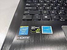"ASUS ROG G750J / 17.3"" (1920x1080) TN / Intel Core i7-4700HQ (4 (8) ядра по 2.4 - 3.4 GHz) / 8 GB DDR3 / 120, фото 2"