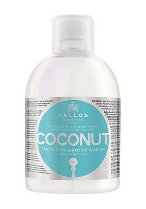Шампунь зміцнюючий з кокосовим маслом Kallos Coconut 1000 ml., фото 2
