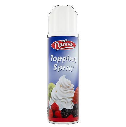 Вершки-топінг до кави та десертів Nanna Topping Spray 250 г, фото 2