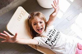 LUNA board Рокерборд Балансборд  Junior  (до 100 кг) c фетровой подкладкой