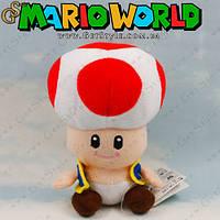"""Плюшевая игрушка Тоад из Марио - """"Toad Toy"""" - 18 см!, фото 1"""