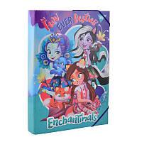 """Папка для труда картонная A4 """"Enchantimals"""""""