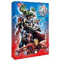 """Папка для труда YES картонная A4 """"Marvel.Avengers"""""""