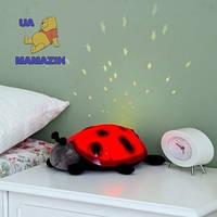Ночник проектор звезд Божья коровка Twilight Ladybug, детская игрушка, фото 1