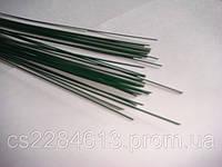 Проволока,для рукоделия(флористическая),зеленая ,1 шт