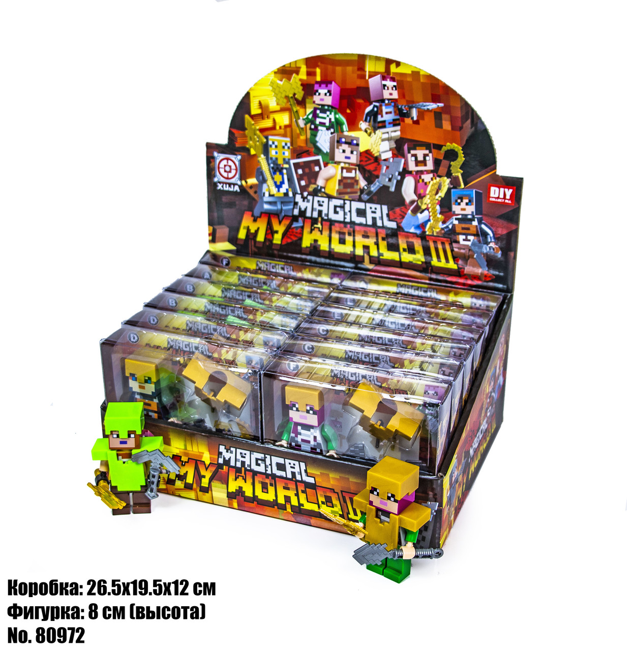 Фігурки Minecraft в Блістері 80972