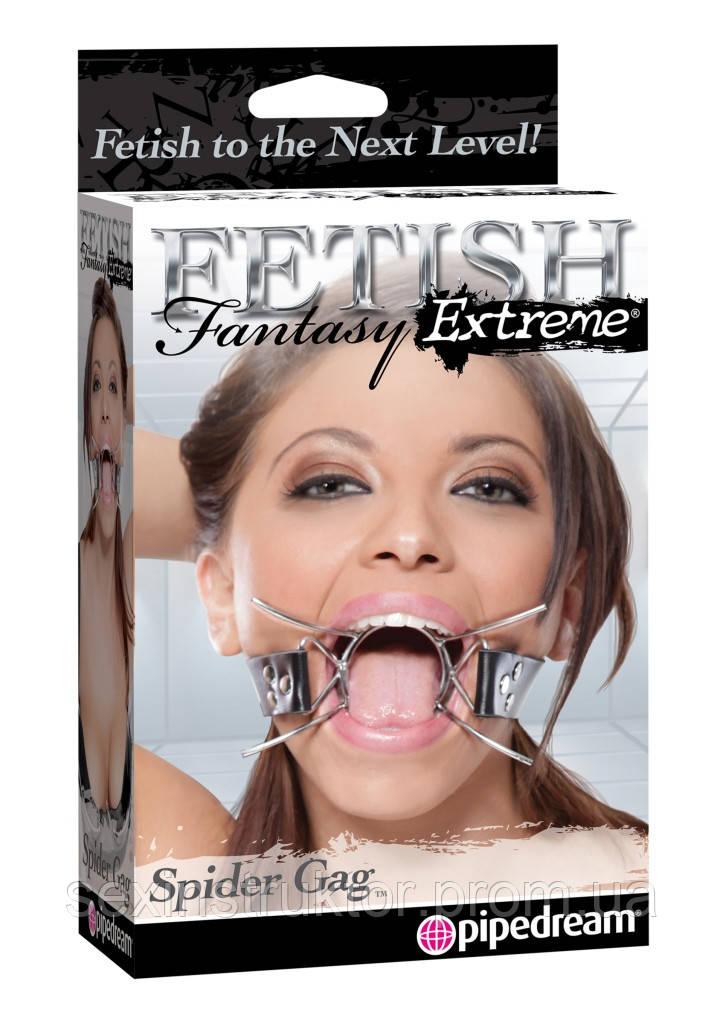 Кляп - Fetish Fantasy Spider Gag Black