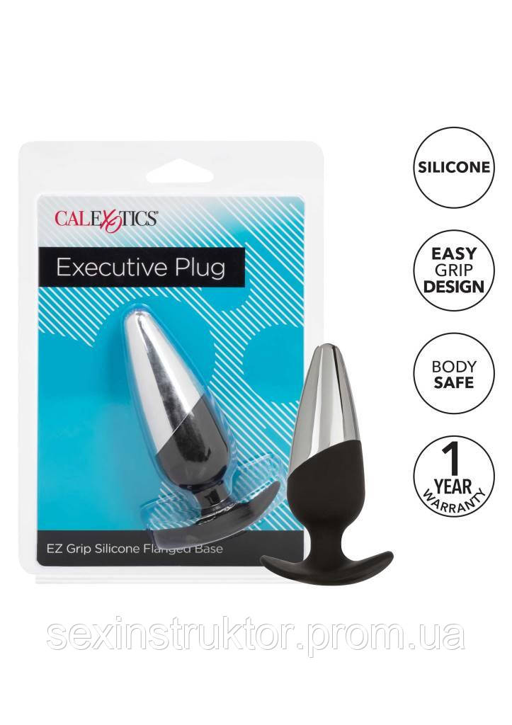 Анальная пробка - CalExotics Executive Plug Black