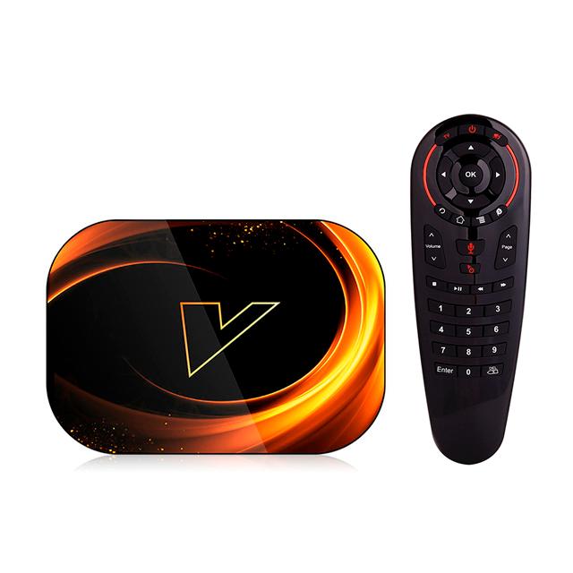 Смарт ТВ приставка VONTAR X3 4/128Gb Voice Control