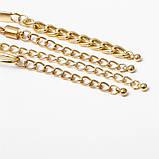 Набор женских золотистых браслетов на руку код 2000, фото 7