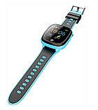 Детские смарт-часы Lemfo HW11 Aqua Plus с камерой и GPS отслеживанием Синий, фото 4