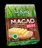 """Масло """"Беллакт"""" сладкосливочное несоленое 82,5%"""