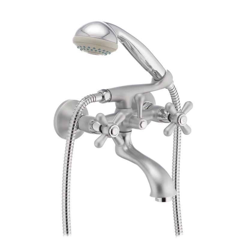 Смеситель для ванны Haiba DOMINOX 142 матовый (HB0066)