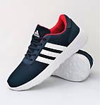 Кроссовки Adidas Мужские Синие Адидас BOOST (размеры: 41,42,43,44,45) Видео Обзор, фото 2