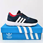 Кроссовки Adidas Мужские Синие Адидас BOOST (размеры: 41,42,43,44,45) Видео Обзор, фото 3