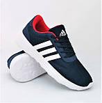 Кроссовки Adidas Мужские Синие Адидас BOOST (размеры: 41,42,43,44,45) Видео Обзор, фото 4