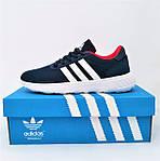 Кроссовки Adidas Мужские Синие Адидас BOOST (размеры: 41,42,43,44,45) Видео Обзор, фото 5