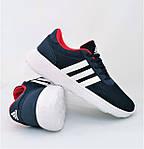 Кроссовки Adidas Мужские Синие Адидас BOOST (размеры: 41,42,43,44,45) Видео Обзор, фото 6