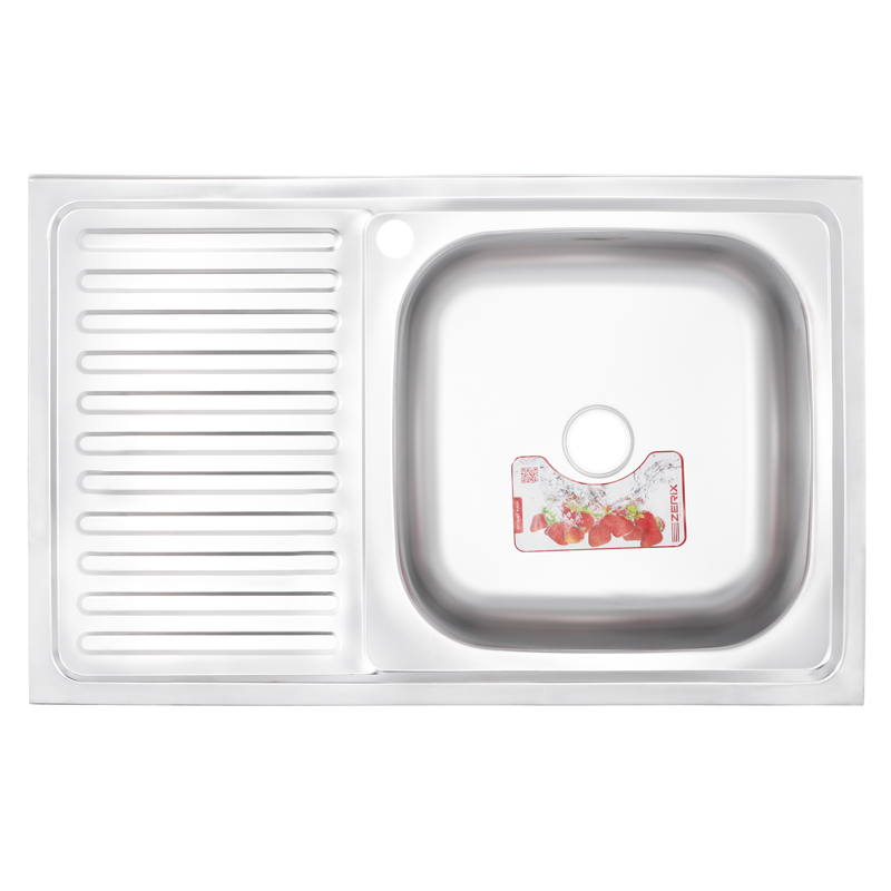 Мойка кухонная ZERIX Z8050R-06-160MD (MICRO DECOR) (ZS0599)