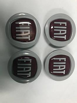 Fiat Panda 2003-2011 гг. Колпачки в оригинальные диски 49/42,5 мм (4 шт)