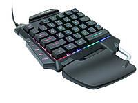 Клавиатура Zuoya G92 одноручная игровая с 35 клавишами